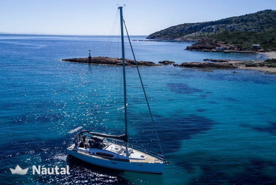 Sailing boat rent Beneteau Oceanis 46 in Port of Volos, Thessaly