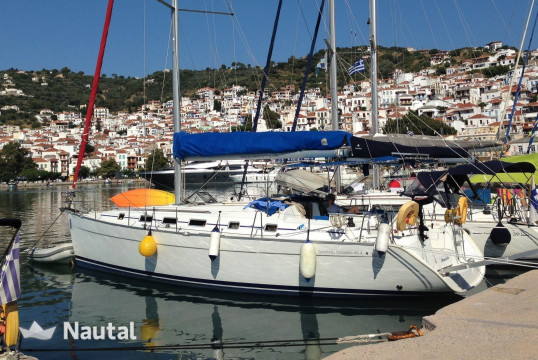 Sailing boat rent Beneteau Cyclades 43.4 in Port of Volos, Thessaly