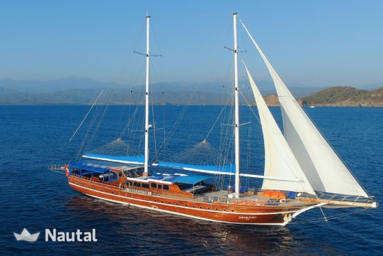 Sailing boat rent Gulet Ketch in Setur Netsel Marina, Marmaris