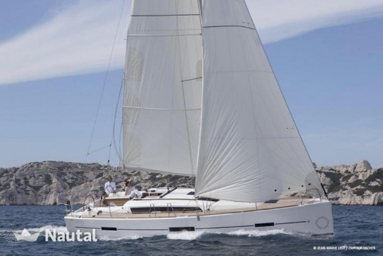 Sailing boat rent Dufour 410 Grand' Large in Port Charles Ornano, Southern Corsica - Ajaccio