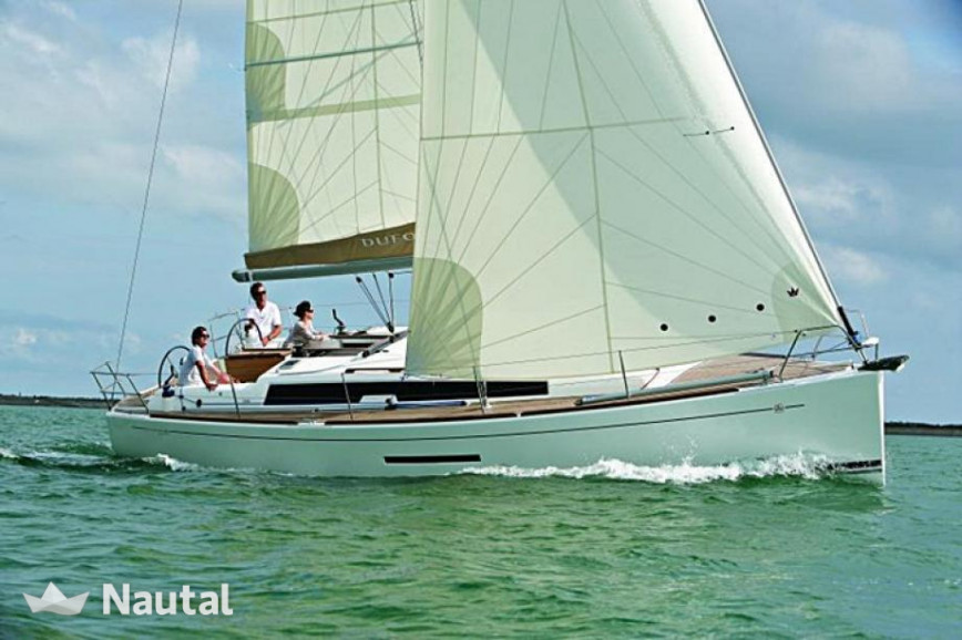 Sailing boat rent Dufour 380 Grand' Large in Port de Corbières, Bouches-du-Rhône - Marseille