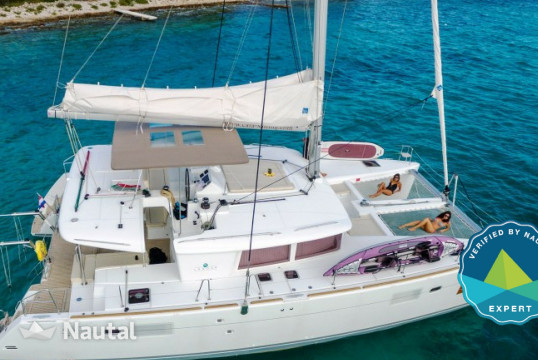 Huur catamaran Lagoon  450 Luxury in Port Trogir, Split en Hvar