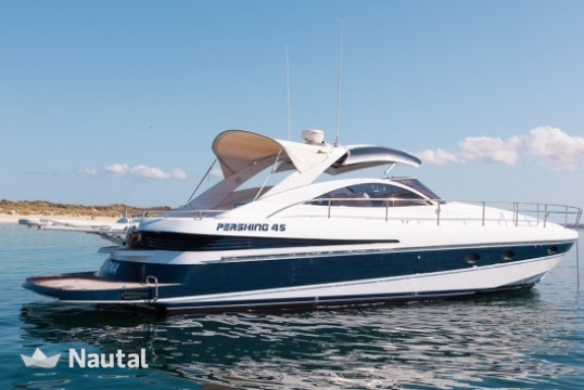 Yacht rent Pershing 45 in Port d'Eivissa, Ibiza