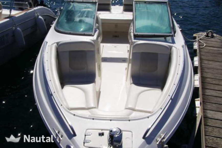 Motorboat rent Chaparral 265 ssi in Port d'Eivissa, Ibiza
