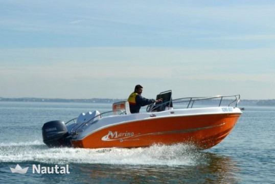 License free boat rent Marino 500 in Porto di Moniga del Garda, Lake of Garda