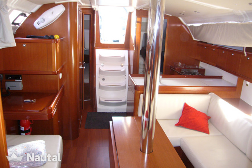 Sailing boat rent Beneteau Oceanis 37 in Las Galletas, Tenerife