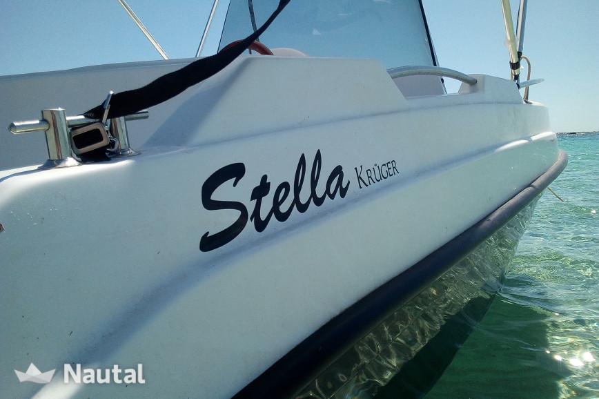 License free boat rent STELLA POLARE kruger in La Savina, Formentera