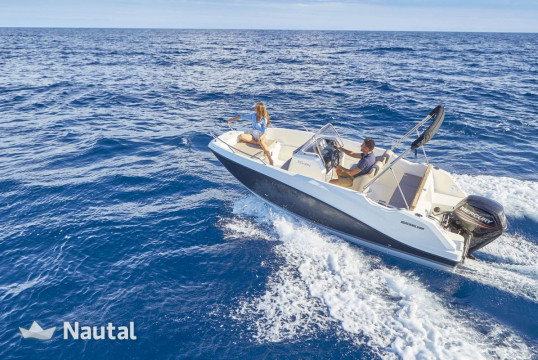 Motorboat rent Quicksilver Activ 555  in Port Hvar, Split, Hvar