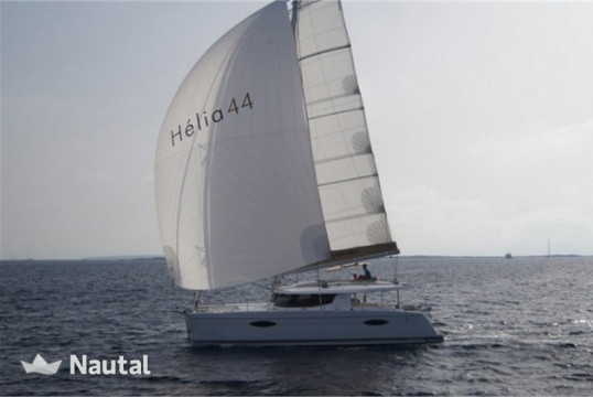 Catamaran rent Fountaine Pajot Helia 44 - 4 cab. in S'Arenal, Mallorca