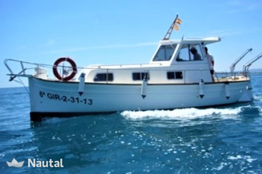 Fishing boat rent Majoni MAJONI 40 in L'Estartit, Girona