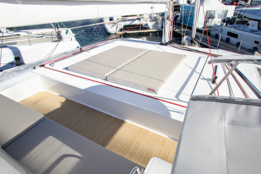 Catamaran rent Custom Neel 51 in Nelson's Dockyard Marina, Antigua and Barbuda