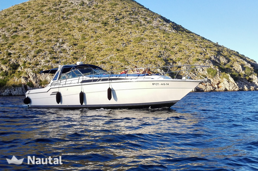 Yacht rent Sea Ray 460 in Port de Pollença, Mallorca