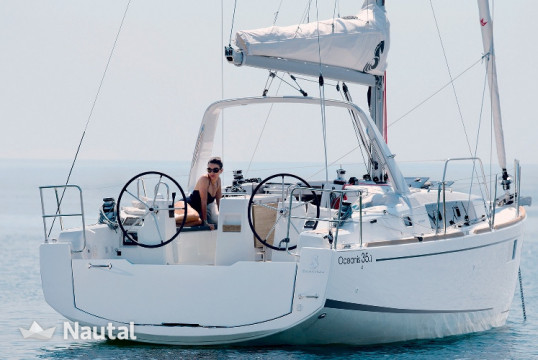 Sailing boat rent Beneteau Oceanis 35.1 in Joma Marina, British Virgin Islands
