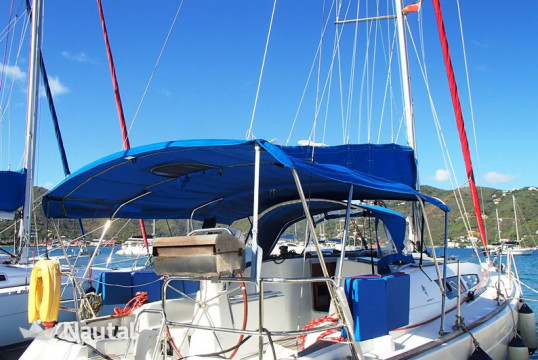 Sailing boat rent Jeanneau  36i in Fort Burt Marina, British Virgin Islands