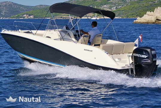 Motorboot chartern Quicksilver Activ 6.75 Sundeck, Marina Pointe du Bout, Martinique