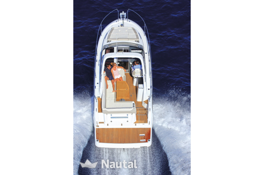 Motorboat rent Jeanneau  Leader 30 in Port Trogir, Split, Hvar