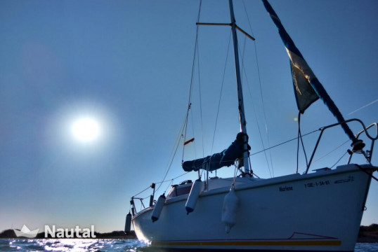 Sailing boat rent Jeanneau SUNWAY 21 in Ses Salines, Ibiza