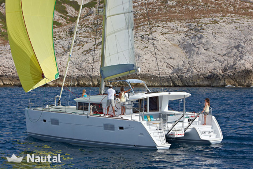 Catamaran rent Lagoon  400 S2 in Gouvia Marina, Corfu