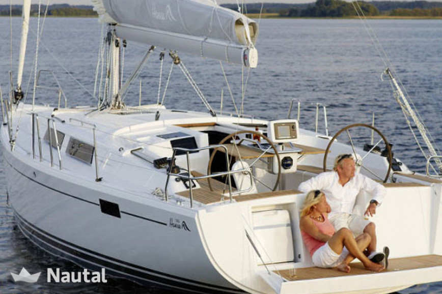 sailing boat rent hanse yachts 385 in port of tallinn old city