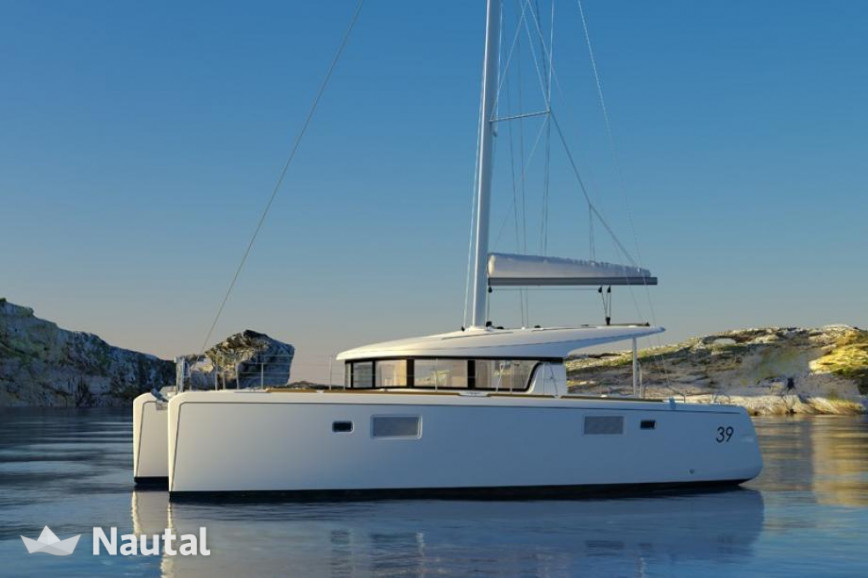 Catamaran rent Lagoon  39 in Cala Nova, Mallorca