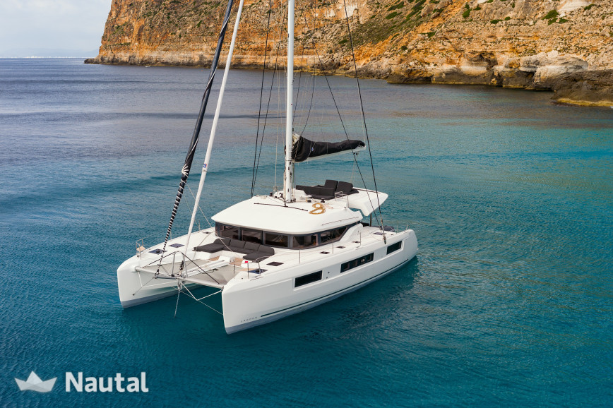 Huur catamaran Lagoon Catamaran 50 in Port Grimaud, Var