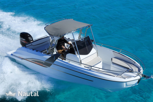 Motorboat rent Beneteau Flyer 7 Spacedeck in Cogolin, Var