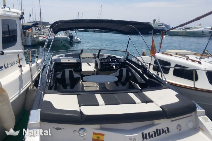 Huur motorboot Glastron GT 225 in Port d'Eivissa, Ibiza