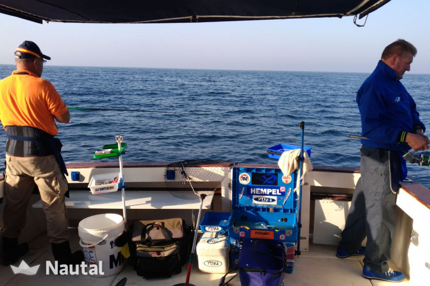 Fishing boat rent Rodman 1100 in Torrevieja, Alicante