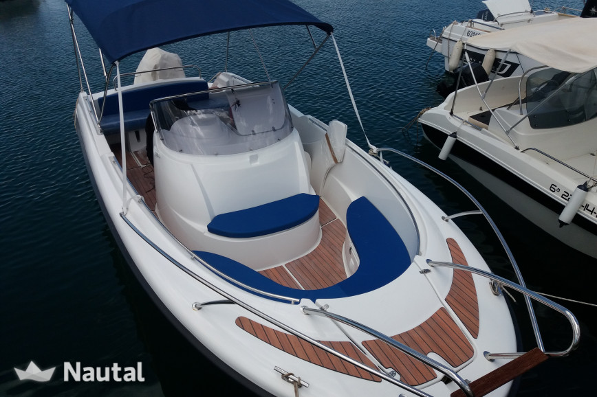 Motorboat rent Jeanneau MARION 750 in Torrevieja, Alicante