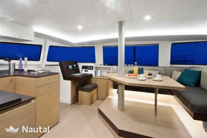 Catamaran rent Catana Bali 4.5 with watermaker & A/C - PLUS in Cala Nova, Mallorca