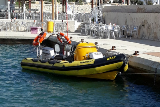 Rib rent Ribcraf 585 in Port d'Altea, Alicante