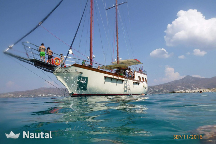 Gulet rent Custom 64 ft pirate ship in Marina Kalamaki, Athens