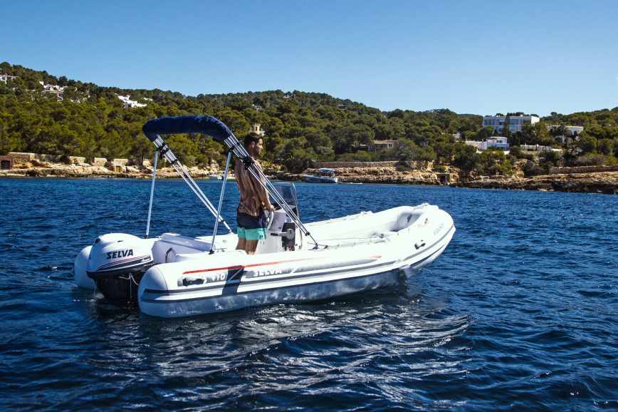 License free boat rent Selva Marine D470 in Port de Sant Antoni, Ibiza