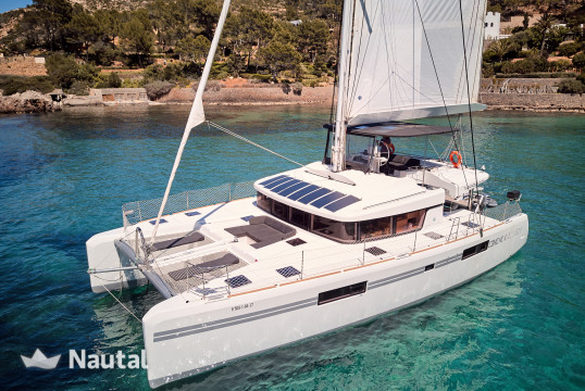 Catamaran rent Lagoon  52 in Port de Sant Antoni, Ibiza