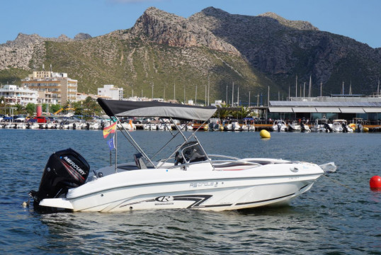 License free boat rent Rancraft RSCinque5s in Port de Pollença, Mallorca