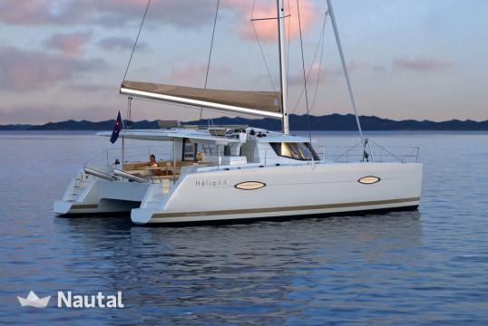 Catamaran rent Fountaine Pajot Helia 44 in Baotić Marina, Split, Hvar