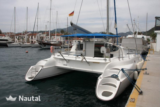 Catamaran rent Fountaine Pajot Athena 38 - 4 cab. in Yacht Marina, Marmaris