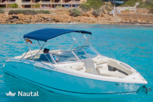 Motorboat rent Cobalt R7 Bowrider in Port Adriano, Mallorca