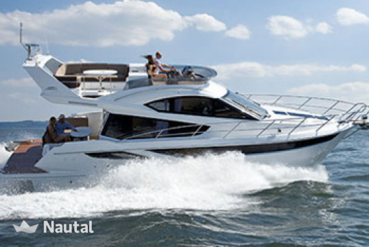 Motorboat rent 0 Galeon 420 Fly in Puerto de Palma, Mallorca
