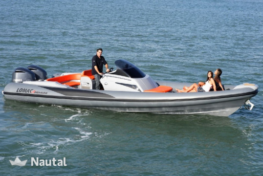 Huur motorboot Lomac 9.5 Adrenalina in Port of Split, Split en Hvar