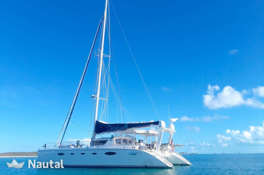 Catamaran rent Fountain Pajot 18.58m in Nassau, Bahamas