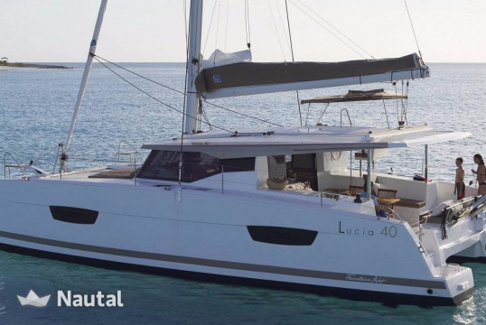 Huur catamaran Fountaine Pajot Lucia 40 O.V. with watermaker & A/C - PLUS in Annapolis, Maryland