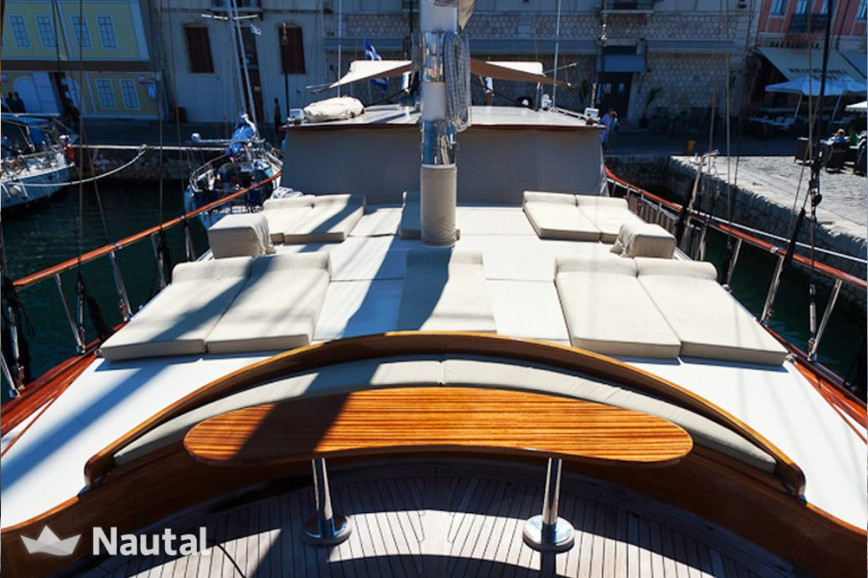 Sailing boat rent Custom 98 in Athens Marina, Athens