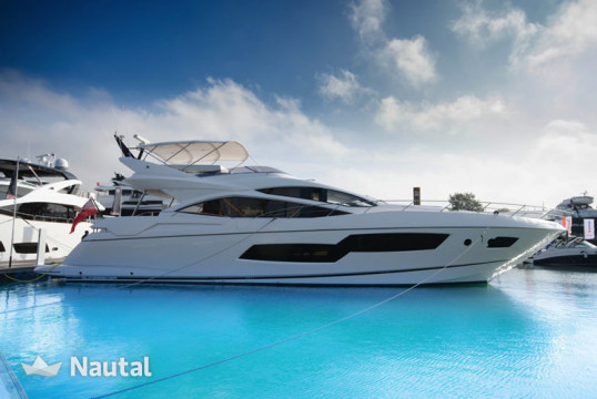 Yacht rent 0 Sunseeker 80 Sport in Port Adriano, Mallorca