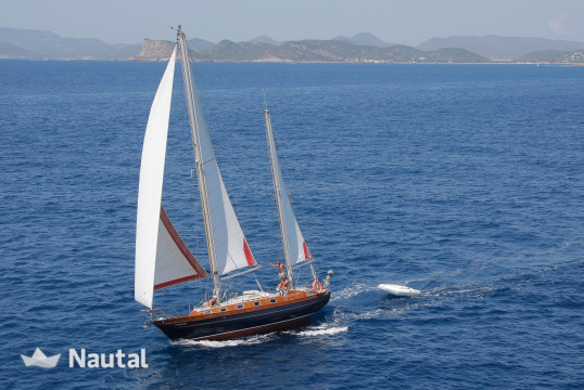 Huur zeilboot CHANTIER RICHARD CHASSIRON GT in Port de Sant Antoni, Ibiza