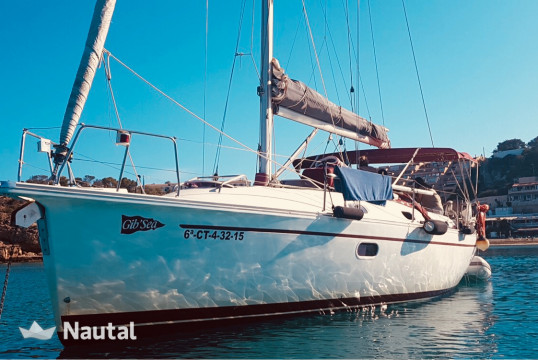 Sailing boat rent Dufour 37 GIb Sea in Port de Sant Antoni, Ibiza