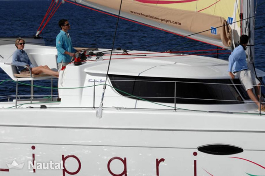 Louer catamaran Fountaine Pajot Lipari 41, Port du Marin, Martinique