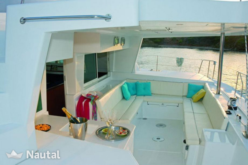 Catamaran rent Lagoon 500 in Olympic marina, Athens