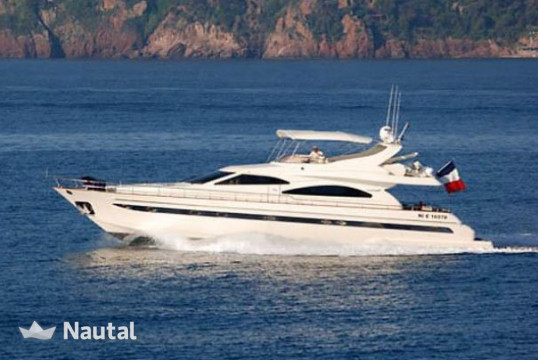 Yacht rent Astondoa  72 GLX in Port Pierre Canto, Alpes Maritimes - Cannes