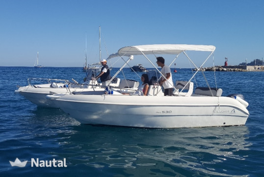 License free boat rent Allegra ALL 530 in Santa Margherita Ligure, Liguria